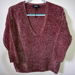 Express Chenille Knit Sweater NWOT